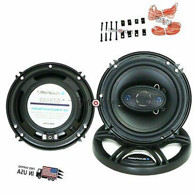 "BRAND NEW BLAUPUNKT 6.5"" 4-WAY CAR AUDIO COAXIAL SPEAKERS  7"