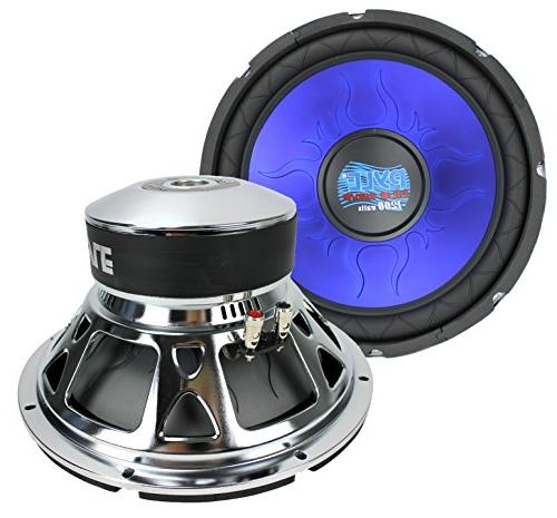 2 pl1290bl car subs subwoofers