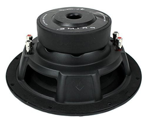 "2) R2D2-10 10"" 2-Ohm Car Audio R2D210"