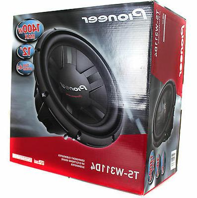 2) 2800W 4-Ohm Subs Pair | TS-W311D4