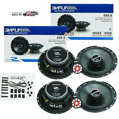 2set s s65 6 5 car audio