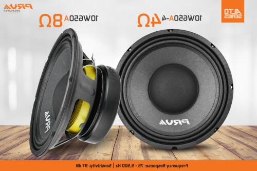 2x Mid Car Stereo Speaker 4 ohm 10A PRO