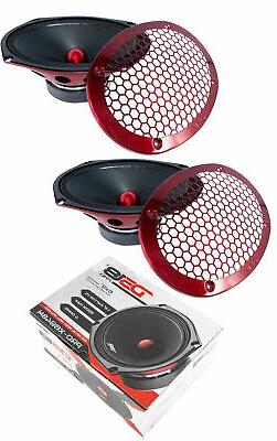 "2x 6x9 "" Midrange Loud Speakers 1100 Watt 4 ohm Pro Car Audi"
