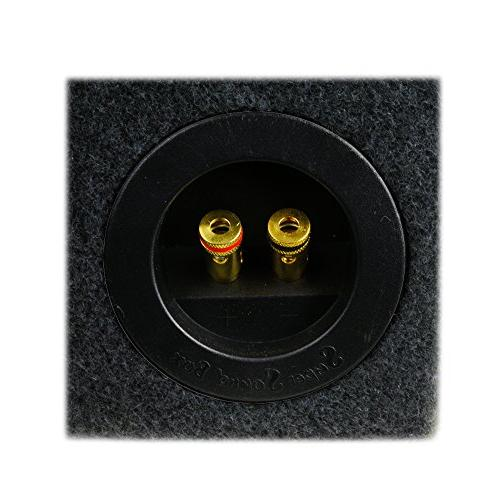 """0.30 ft^3 Sub Single Audio W3v3 Subwoofer - 3/4"""" - Made in"""