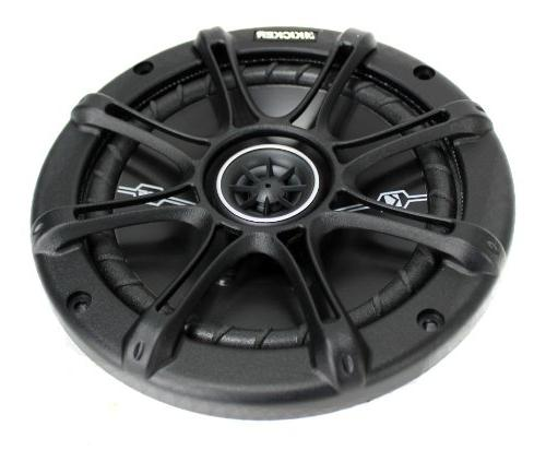 "4) Kicker 41DSC654 D-Series 6.5"" 4-Ohm Speakers"