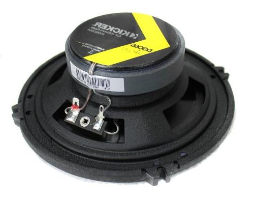 "4) Kicker 41DSC654 6.5"" 4-Ohm Audio Speakers"