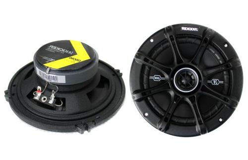 "4) Kicker 41DSC654 6.5"" 2-Way Speakers"