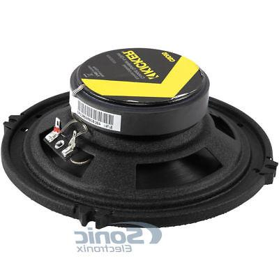 4) Kicker CS Series 600W RMS 2-Way Coaxial Car