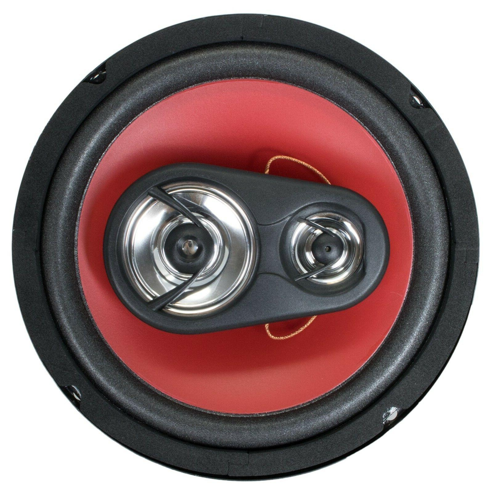 "4) Audiobank 6.5"" Watt Car Audio -"