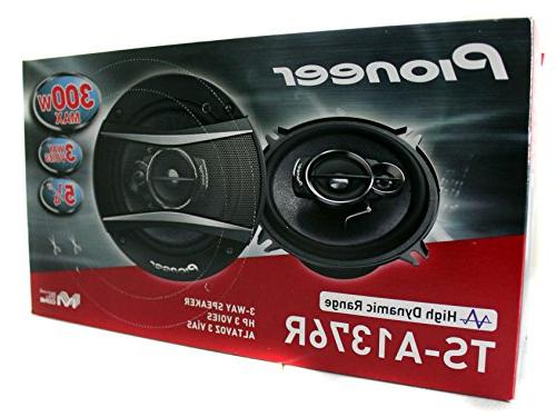 4) Pioneer 5.25 3-Way Watt Car Stereo Speakers | TS-A1376R