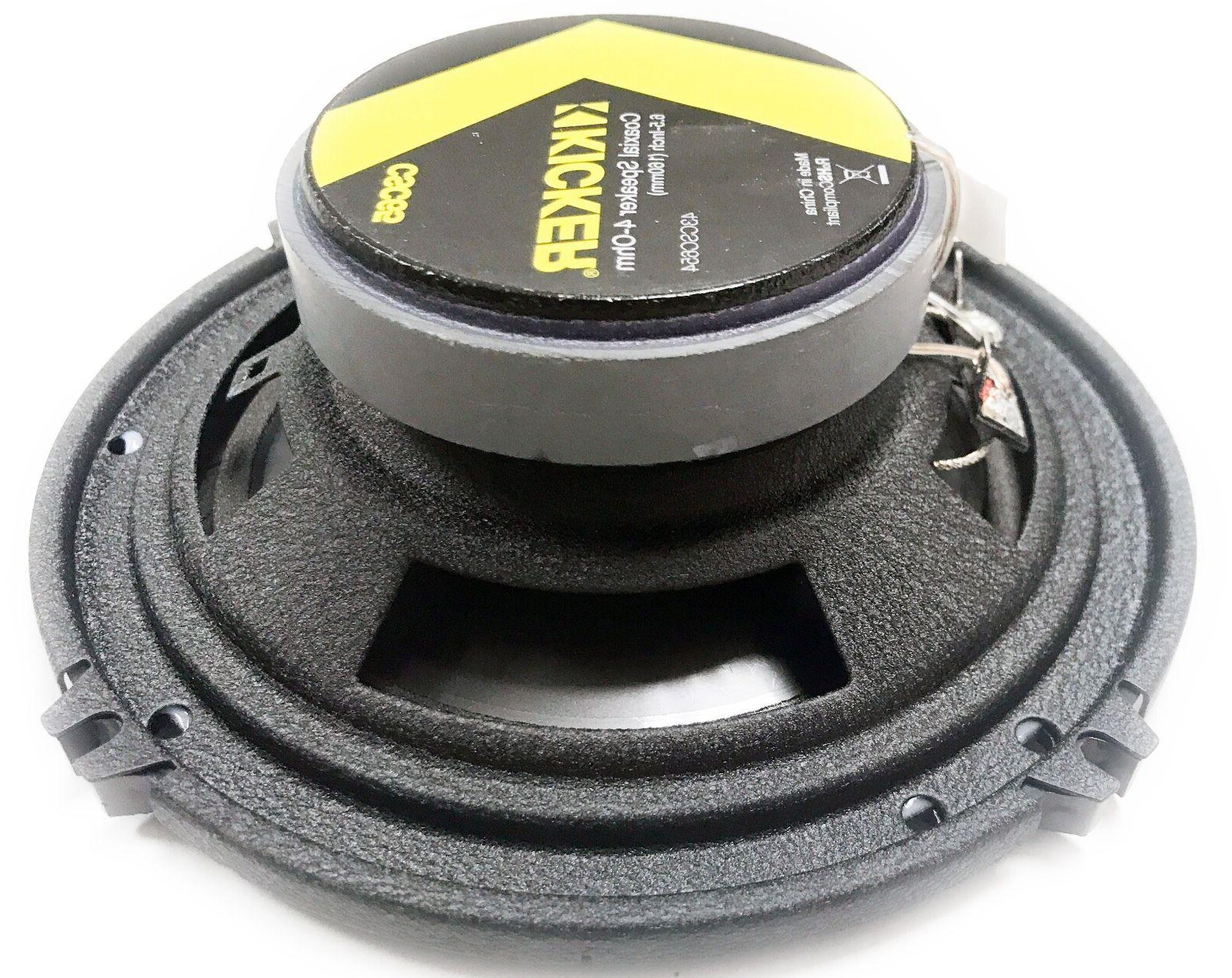 "-4- Kicker Series 6.5"" 2-Way Speakers, 43CSC65"