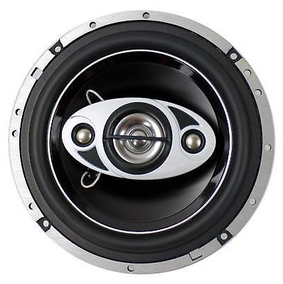 """4) P65.4C 6.5"""" 4-Way Car Coaxial Speakers Stereo P654C"""