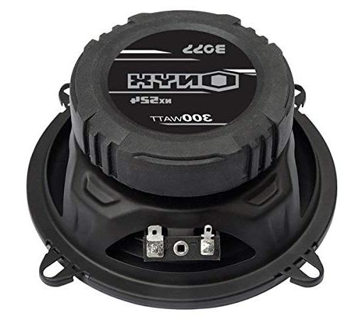 "5.25"" 600W 4-Way Audio Stereo Black 4 Ohm"