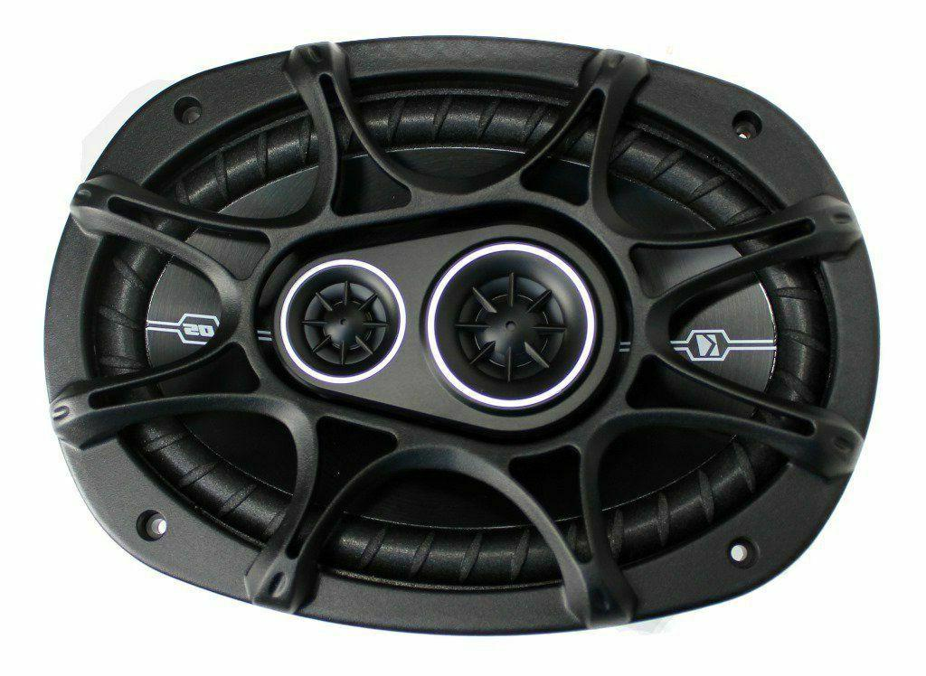 Kicker 360 Audio Coaxial Speakers 2) New