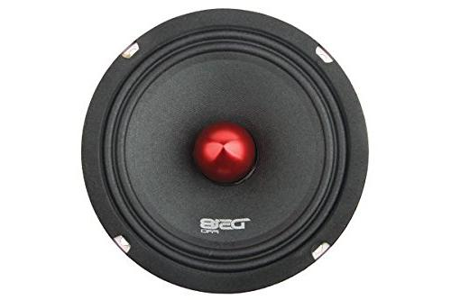 "DS18 6.5"", Midrange, Bullet, 500W Max, 250W Premium Quality Speakers for Car or Truck"