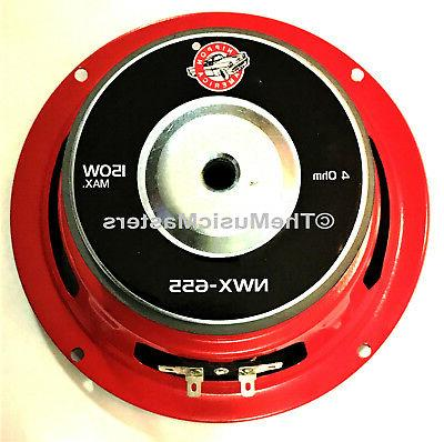 6.5 inch Audio Studio Subwoofer Replacement Speaker