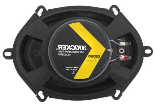 Kicker Front Factory Speaker Replacement For 2004-2006 Ford