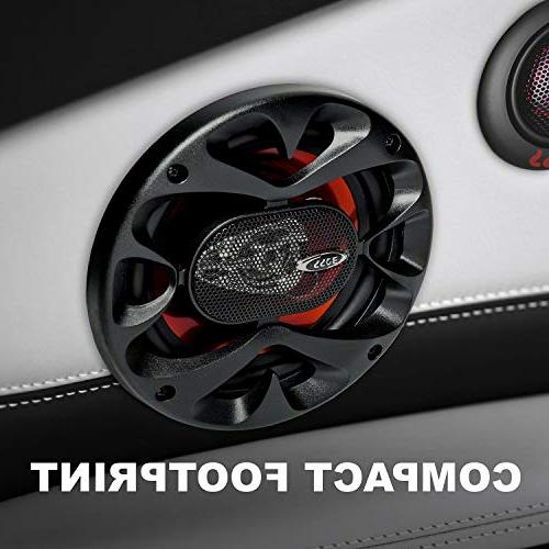 BOSS CH6530 Speakers Of Power And 150 Watts 6.5 Inch, Full Range, 3 Way, Sold Pairs, Easy Mounting