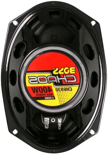 BOSS Speakers - 400 Of Power Per Pair And 200 6 Full Way, Sold in Mounting