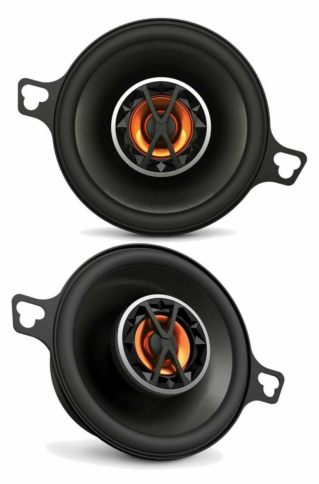 "AUTHENTIC NEW JBL Club 3.5-inch 3-1/2"" 2-Way Coaxial Car Speakers"