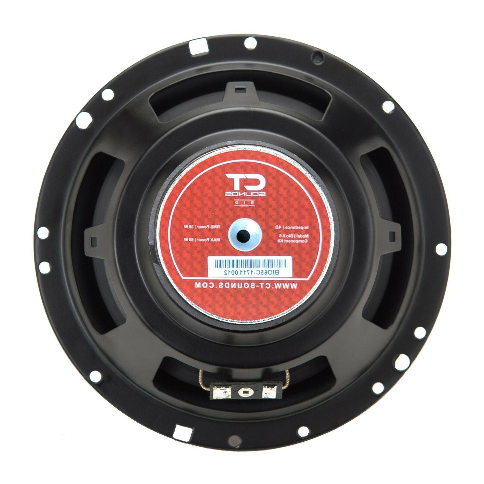 Inch Component Car Audio Speakers Comp