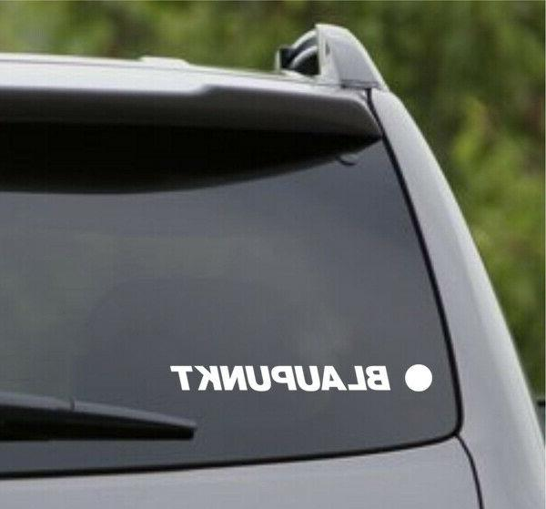 Blaupunkt Audio Stereo Speakers Electronics Vinyl Decal -