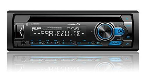 Pioneer Bluetooth In-Dash CD Car Stereo Receiver Bundle 99-6503 Installation Kit for Harness