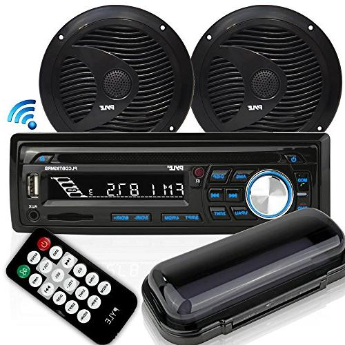 bluetooth marine stereo receiver waterproof