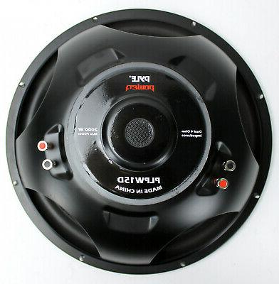 Car Audio Subwoofer in Dual Voice Pyle Home or