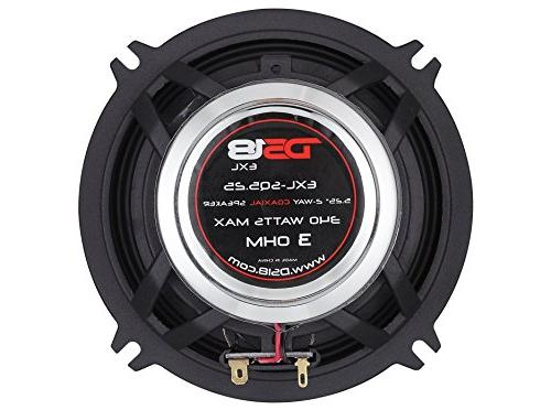 DS18 - 5.25-Inch 3-OHMS Speaker - Design with A Finish Superior Response - 800 WATTS Max SET OF 2