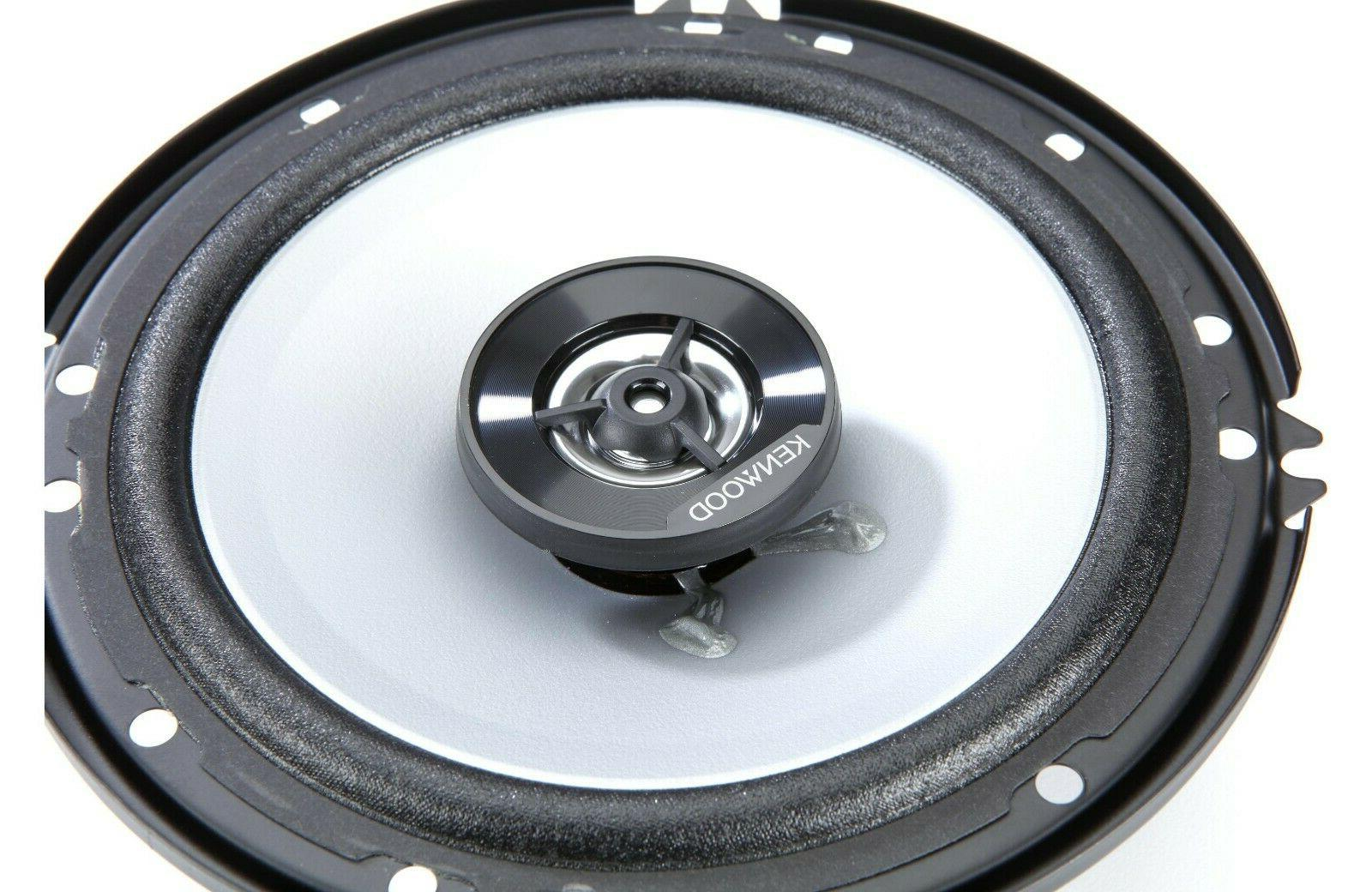 Kenwood Car Speakers 6-1/2""