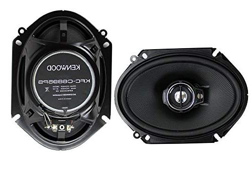 Kenwood 1 X 4 New kenwood 720 3-Way Audio Speakers