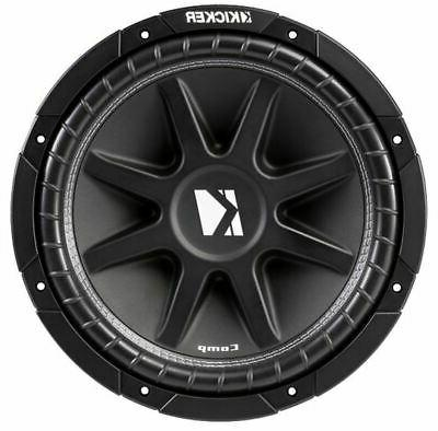 Kicker Dual Comp C12 12 Sealed High Performance Woofer 2 New