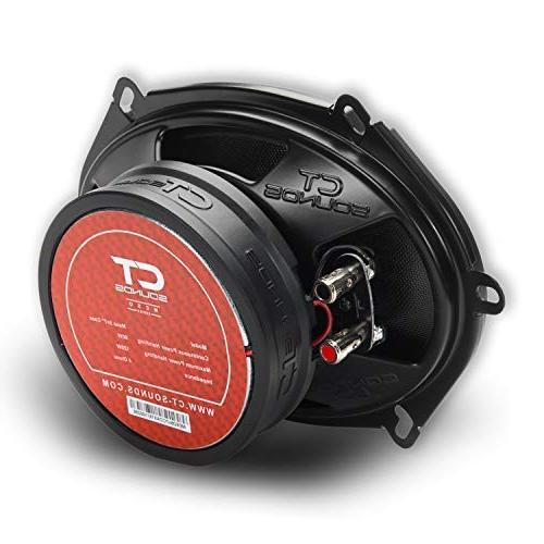 CT Sounds Meso Inch Silk Coaxial Car Speakers