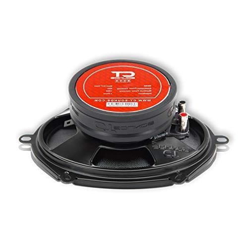 CT Meso Inch 2-Way Dome Coaxial Audio Speakers
