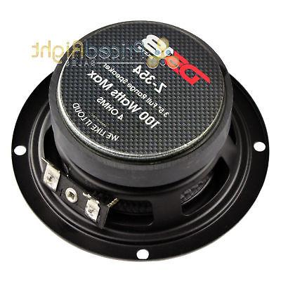 "3.5"" Mid Speaker Power 4 Ohm DS18 Elite"