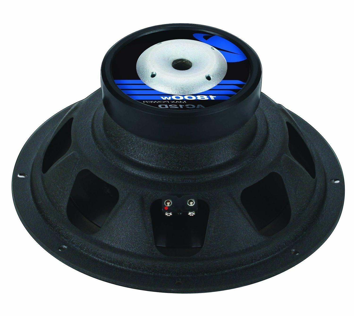 NEW DVC Subwoofers Bass.Replacement.Speakers.Dual 4+4ohm.Car