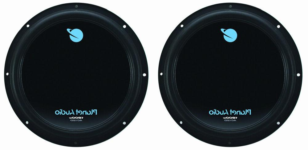 new 2 12 dvc subwoofers bass replacement