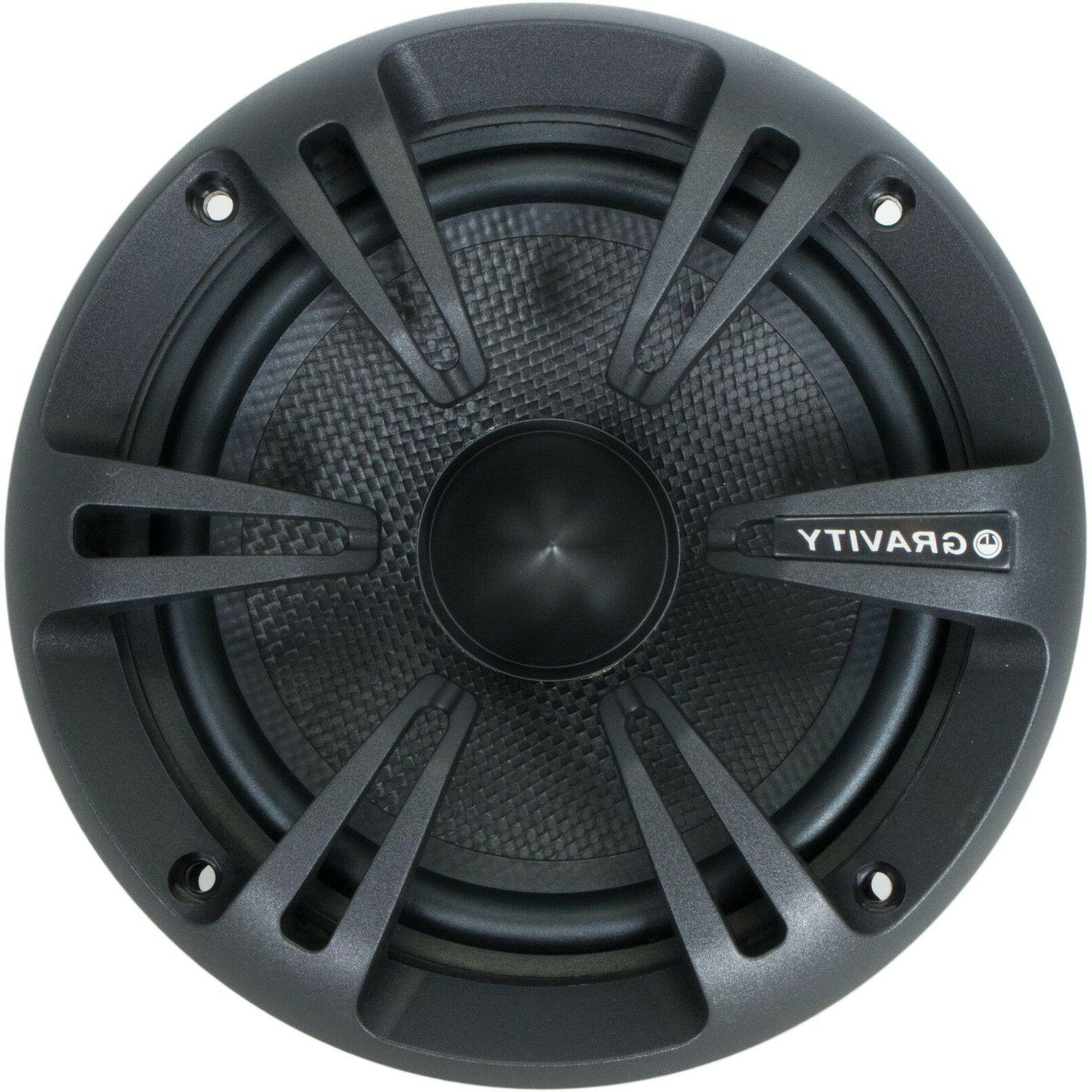 New Gravity 6.5-Inch 2-Way Audio Speakers System