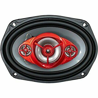 New 520 Coaxial Speakers Rated