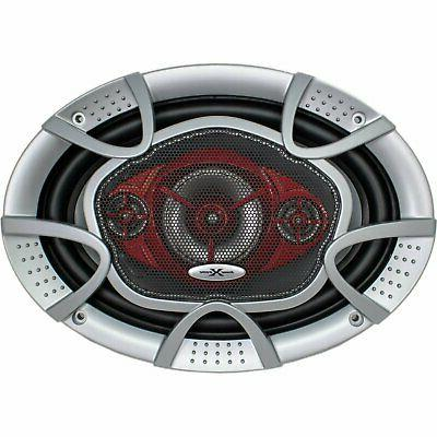 """New 6x9"""" 4-Way 520 Speakers CEA Rated"""