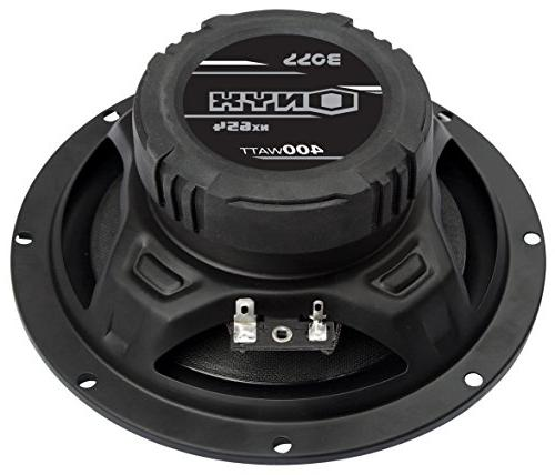 BOSS NX654 Speakers - 400 Of Per 200 Watts Each, Way, Sold in Easy Mounting