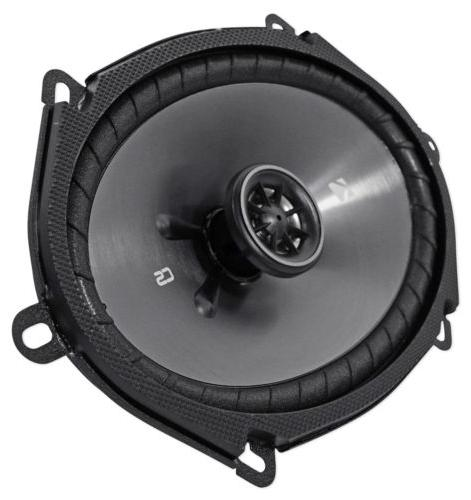 "Pair KICKER 6""x8"" 6x8 450 4-Ohm Coaxial Speakers CSC684"