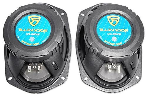 Pair Rockville 6x9 Component Watts/220w RMS CEA