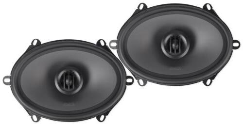 """Pair THUNDER681 5x7""""/6x8"""" 360w Component Coaxial"""