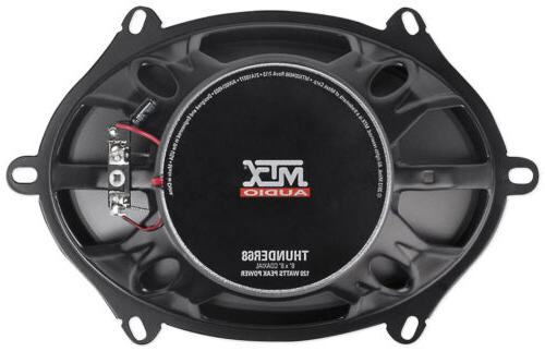 Pair MTX 360w Component Coaxial Speakers