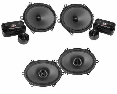 pair thunder681 5x7 6x8 360w component speakers
