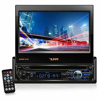 """Single Receiver - Stereo with 7"""" Touchscreen Video System for Streaming & Hands-free - Pyle"""