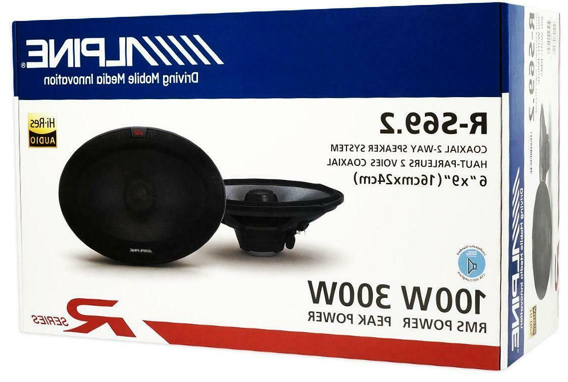 r s69 6x9 car speakers coaxial 2