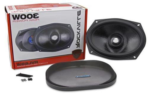 Rockville Competition Aluminum Car Subwoofer Mid-Bass+Lows